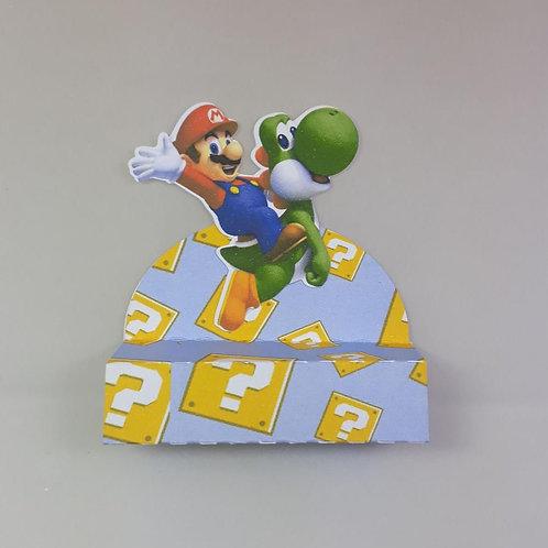 Porta bis para 1 bis Super Mario com 3 unidades