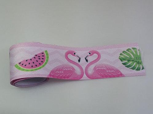 Fita Gorgurão n.9 Flamingo com 1 metro