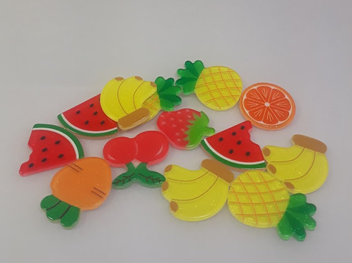 Aplique Frutinhas com 10 unidades