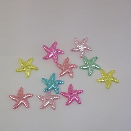 Aplique Estrela do Mar com 30 unidades