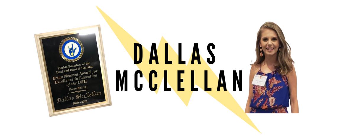 Our 2020 Teacher of the Year - Dallas McClellan