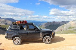 Lifted Range Rover SC/ LR Rally