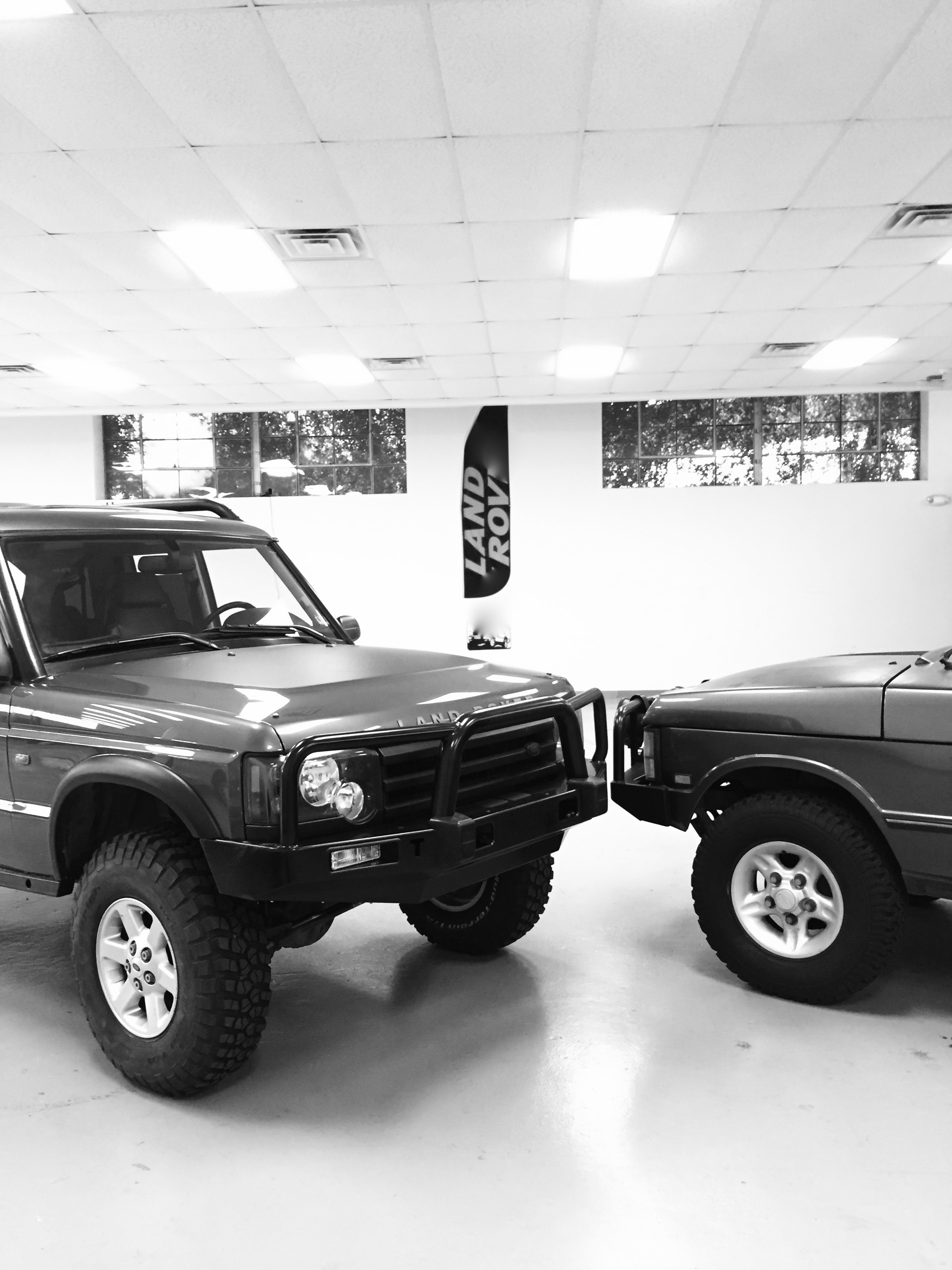 2004 Discovery & 1991 Range Rover
