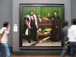 The Ambassadors, Hans Holbein the Younger, National Gallery