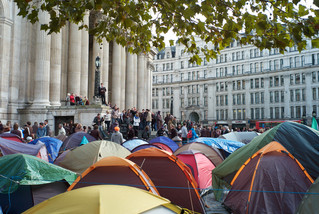 The Occupy London Camp, St Paul's Cathedral, London