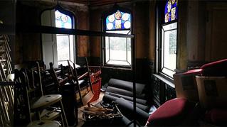 In bright bright house, there is a dark dark room: Strawberry House, Twickenham