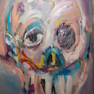 Acrylique sur toile 175x125 cm 2021