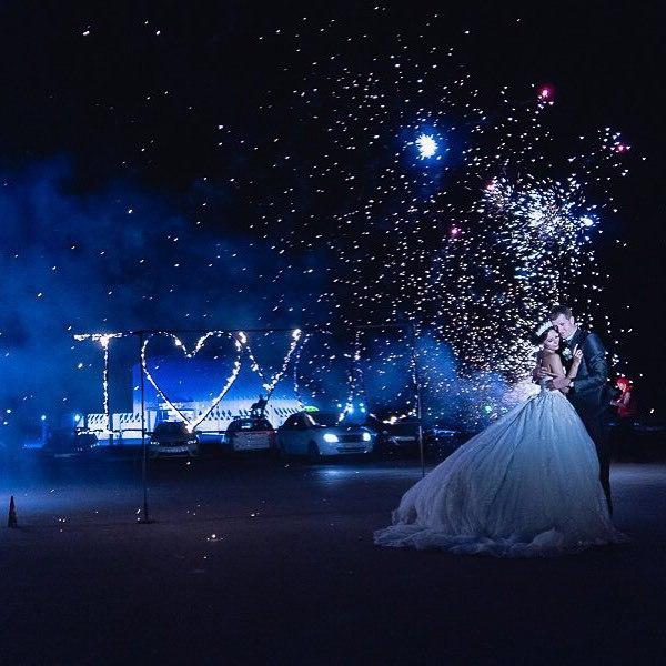 Огненное надписи на свадьбу