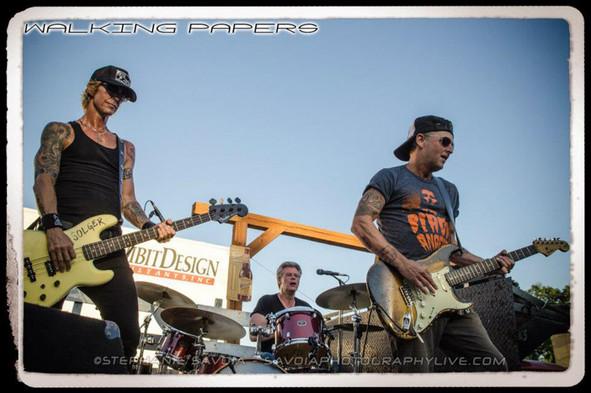 Duff, Mike McCready & Barrett Martin