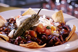Brisket & Bean Chili with the Works