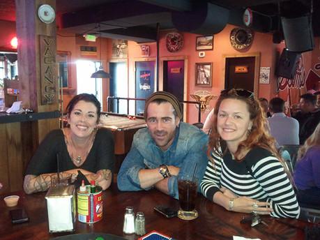 Jen Shore, Colin Farrell, & Celeste