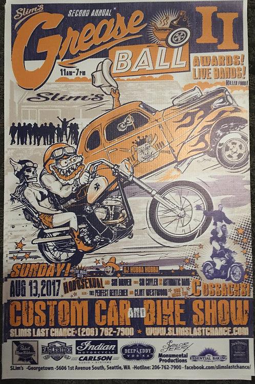 Greaseball Poster on Vinyl