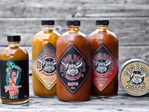 Pig Iron Sauces & Rub