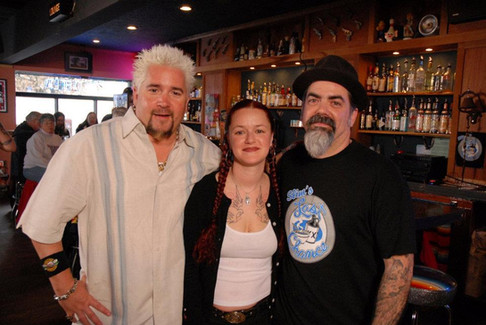 Guy Fieri, Celeste & Mikey