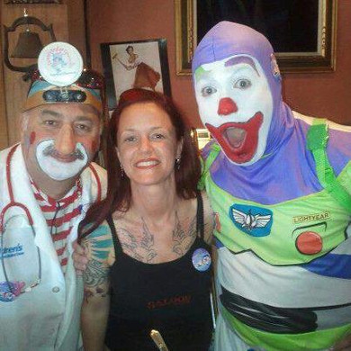 Celeste & Seafair Clowns