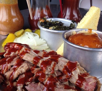 Smoked Pulled Pork & Sides