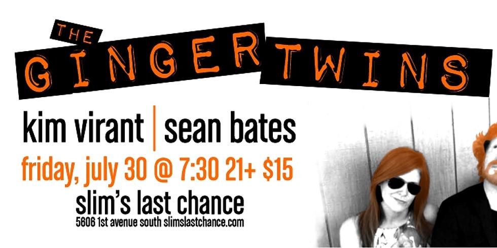 Ginger Twins - Kim Virant + Sean Bates