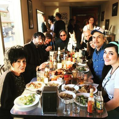 Wanda Jackson, John Doe, DJ, Cindy, Frank, Howe, & Family