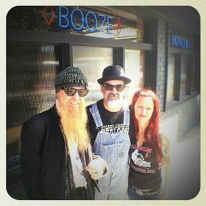 Rev Billy, Mikey & Celeste