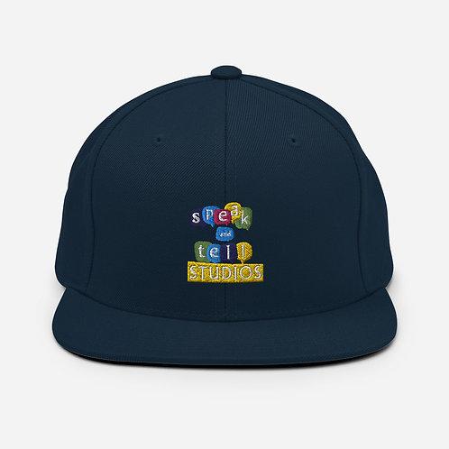 Speak and Tell Snapback Hat