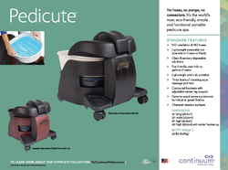 Continuum Pedicure Chairs - Spa Supply S