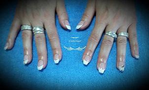 Gainage gel sur ongles naturels