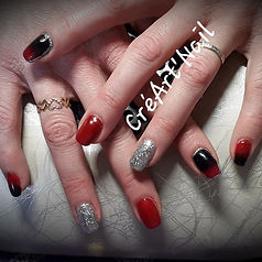 #gainagegel #vsp #nailart #noël_Photos a