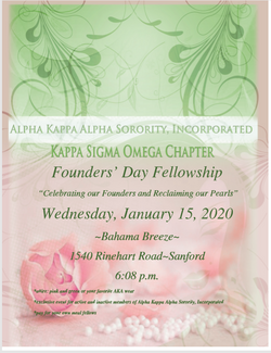 Founders Day Chapter Reclamation
