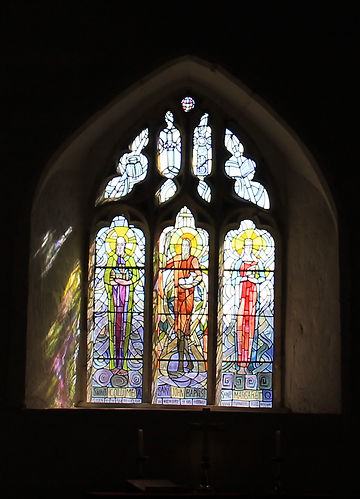 Grimston Stain glass windows