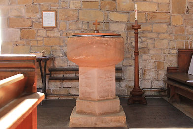 Grimston Church Font