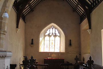 Grimston Church, The Chancel