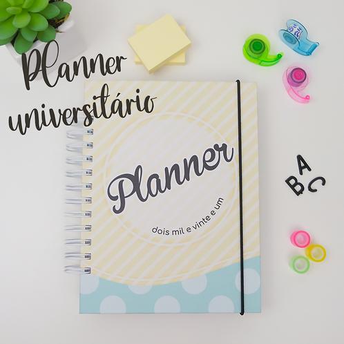 Planner Universitário Permanente-A5