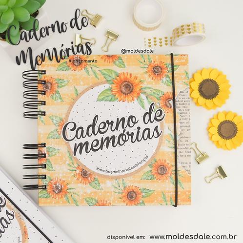 Caderno de Memórias - Miolo 18x18cm