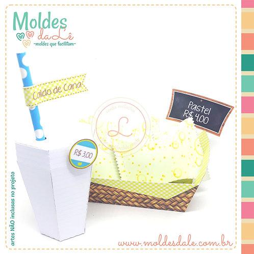 Kit Pastel de Feira
