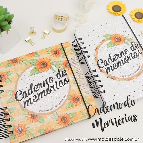 Combo Caderno de Memorias - 18x18cm e A5