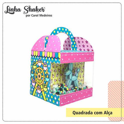 Quadrada com Alça Shaker
