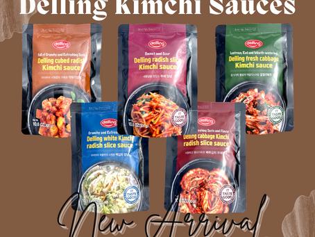 Delling Kimchi Sauces
