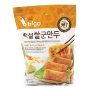 CJ Bibigo Crispy Rice Wrapper Potstickers Meat & Vegetable (28 Oz)