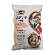 CJ Duru Duru All Purpose Vegetable & Pork Dumplings (4 LBS)