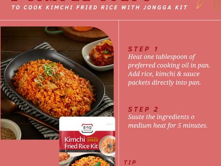 Kimchi Friend Rice with Jongga Kit