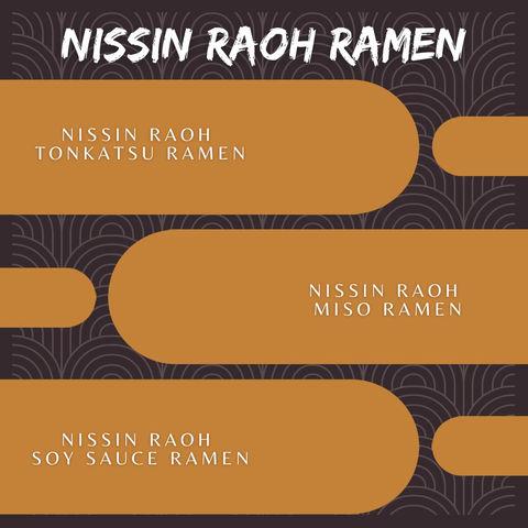 Nissin Raoh Ramen