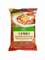 Pulmuone Soupy Sweet & Spicy Rice Cake (14.9 Oz)