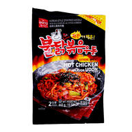 Wang Extreme Spicy Hot Chicken Flavor Udon 2 Servings (15.58 Oz)