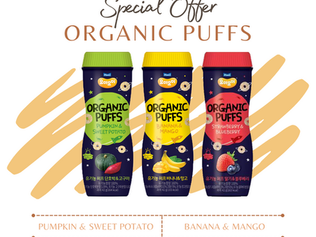 Organic Puffs!