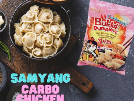 Samyang Carbo Chicken Dumplings