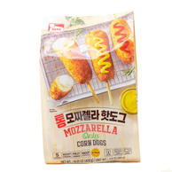 Haetae Mozzarella Only Corn Dogs 5 Packs (14.1 Oz)