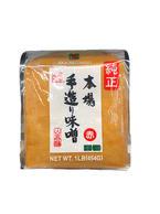 Hana Tezukuri Aka Red Miso Japanese Soybean Paste (1 LB)