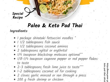 Paleo & Keto Pad Thai