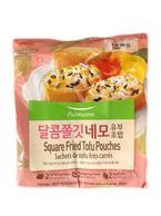 Pulmuone SquareFried Tofu Pouches (11.6 Oz)