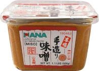 Hana Aka Red Miso Japanese Soybean Paste (1.1 LBS)